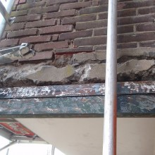Betonreparatie balkons van de woningen aan de Schepenstraat 46 te Rotterdam.