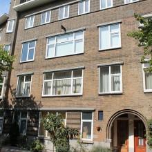 Gerenoveerde gevels Harddraverstraat 49 provenierswijk te Rotterdam