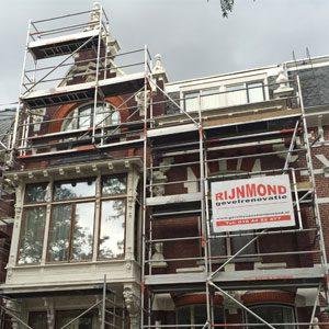 Gevelrestauratie Aveneu Concordia in Rotterdam Kralingen