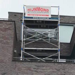 Gevelrenovatie Barendrecht Zuidersingel 2 t/m 44