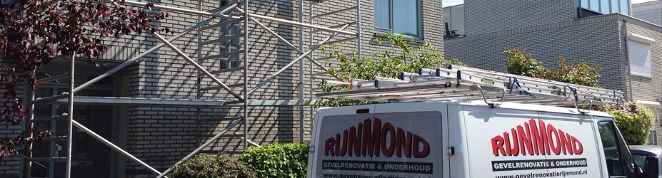 Gevelrenovatie woning in de Rotterdamse wijk Prinsenland