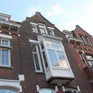 Gevelrenovatie Voorschoterlaan 48 Rotterdam Kralingen