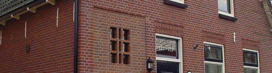 Gevelrenovatie woningen in Capelle aan den IJssel
