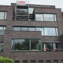 Gevelrenovatie Zuidersingel 2-44 Barendrecht.
