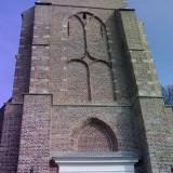Gevelrestauratie kerk in Heerjansdam in opdracht van Monumenten zorg