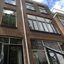 Gevelrestauratie Voorschoterlaan 50 te Rotterdam.